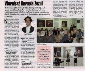 2015 09 17 Gazeta Nowa Wernisaż K Zezula