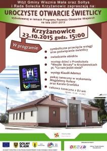 Otwarcie Swietlicy Krzyzanowice v9 web