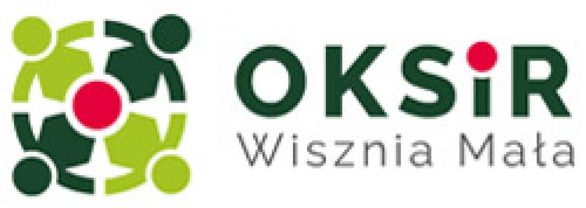 Ośrodek Kultury Sportu i Rekreacji w Wiszni Małej Logo