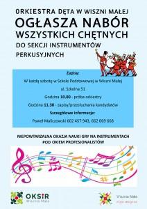 Plakat OD W vMK sekcja perkusyjna_web