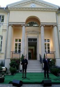 Uroczystości związane z zakończeniem rewitalizacji Pałacu w Wiszni Małej