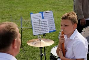 Orkiestra Dęta na Pikniku Pod Wiszniakiem