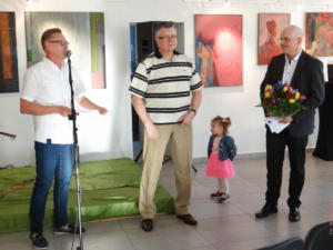Wernisaż wystawy Pawła Jaszczuka i koncert Graftmanna
